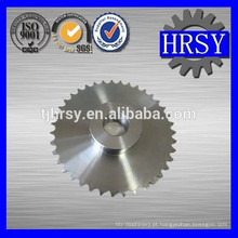 Roda dentada de corrente de rolo de aço inoxidável 304