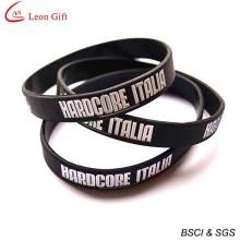 Custom Logo Silicone Wristband for Advertising (LM1637)