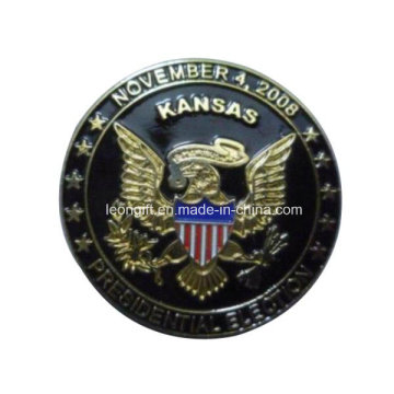 Логотип завода вызов монета оптом