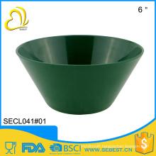 wholesale price rigid dish washer safe melamine plastic soup bowl