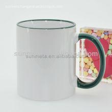 FREESUB Sublimation Heat Press Personalized Travel Mugs