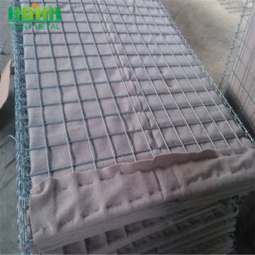 UAE Dubai hesco 0.61x0.61x0.61m wall bag hesco tentera