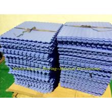 Revestimento de PVC de interligação de alta qualidade em peça Fácil de instalar