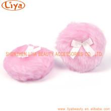 Розовые боа слойка с различным цветом Факультативного