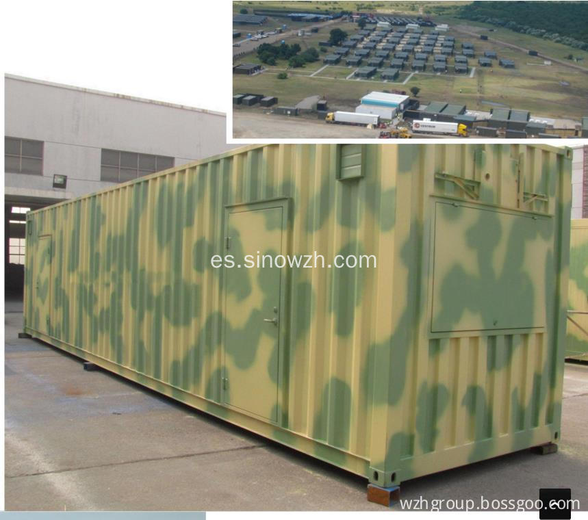 Uso Militar Combine Container House