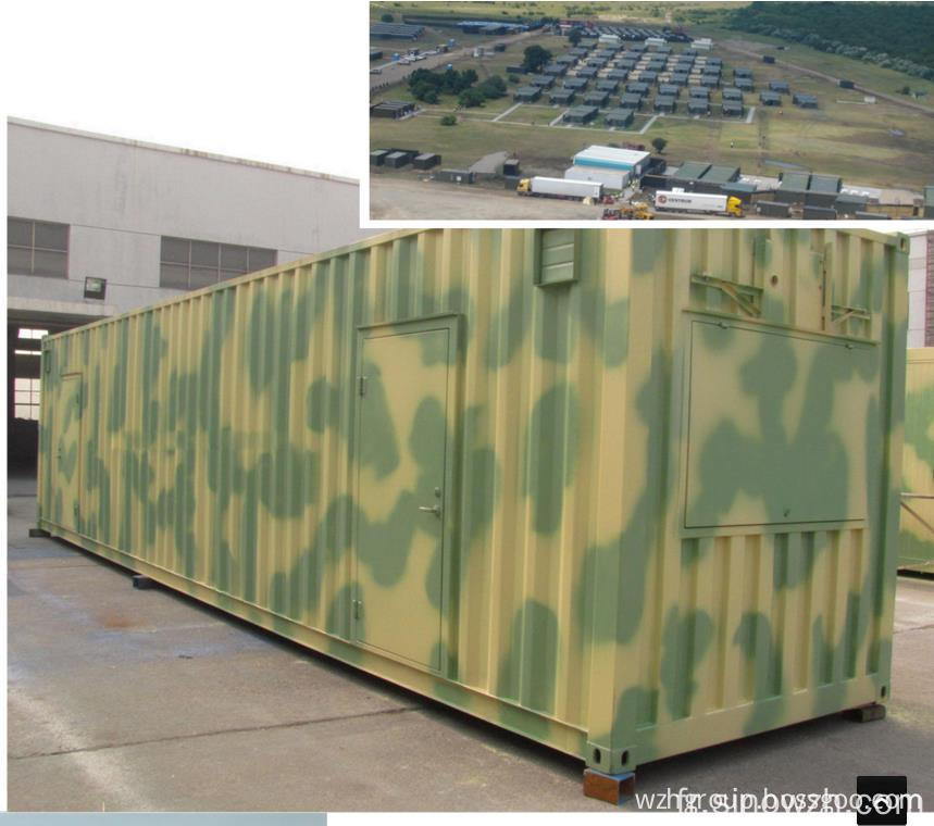 Field Container Camp