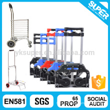 Factory price foldable hand trolley two wheels
