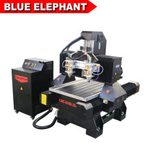 Mini Table Top CNC Router 6090 Small Size CNC Router with Water Tank for Aluminum Profiled