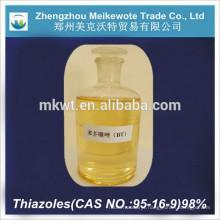 Supply high quality laboratory chemicals reagents Benzothiazole BT/CAS NO.:95-16-9
