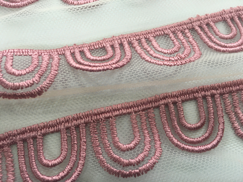 3D Sector Embroidery Fabric