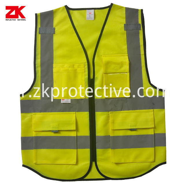 En Iso 20471 Safety Vest