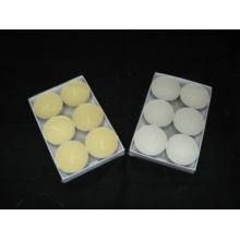 Set of 6 Long Burning Classic Tealight Candle