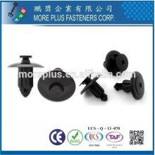 Taiwan Stainless Steel PC N66 Natural Black Nylon Plastic Rivet Plastic Push Rivets Plastic Snap Rivets