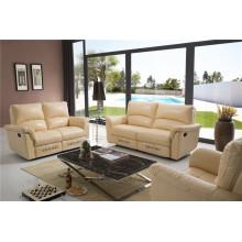 Canapé de salon avec canapé moderne en cuir véritable (790)
