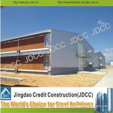 Two-Storey Sealed Galvanization Light Steel Structure Coop