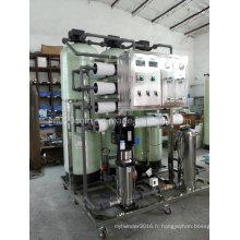 2000L / H Système d'osmose inverse Système RO Traitement de l'eau des plantes avec prétraitement