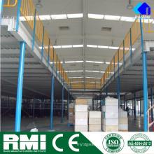 Warehouse Multi Mezzanine Floor Structure Mezzanine Racking System