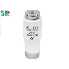 Низковольтный винт Тип предохранителя для бутылок Diii 63A 500V