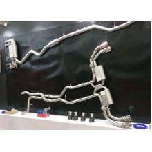Tubo de escape de titanio Gr.1 de alto rendimiento