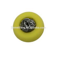 Esponja de acero inoxidable / escoria de esponja / estropajo de acero inoxidable con diferentes formas