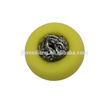 stainless steel scourer/sponge scour/stainless steel scourer with different shape