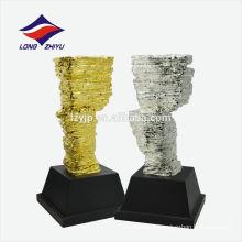 Дизайнер трофей форме камня золотой трофей