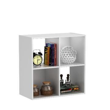 Estantería modular de 4 estantes Unidades y bolso sin tejido