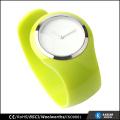 Moda unisex bracelete de relógio, quartzo relógio de aço inoxidável resistente à água