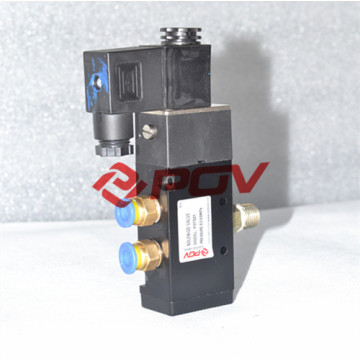 5 porta 2 posição válvula solenóide válvula de ar 5 portas