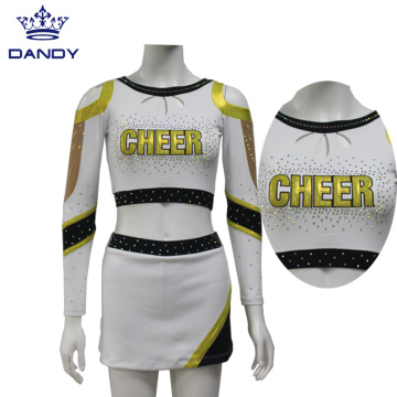 Benutzerdefinierte Cheer Dance Kostüme Cheerleading Uniformen
