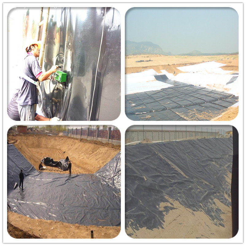 Waterproofing HDPE Membrane Materials