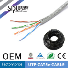 SIPUO caliente venta ethernet utp barato 26awg cat5 cable 4 pares fábrica precio