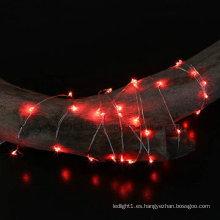 1m 2m 3m 4m 5m 10m 20m 30m 50m Cadena de luces LED Alambre de cobre LED Navidad Hada Luz decorativa centelleante