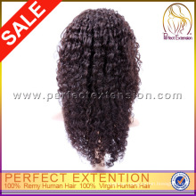 Natural Looking 5a Short Kinky Human Custom Order Brazilian Hair Wigs