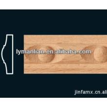 Productos de madera de haya natural.
