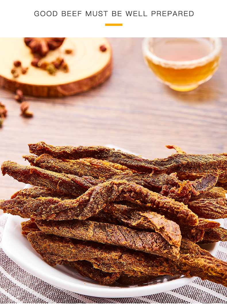 Dried Beef Strip Snack