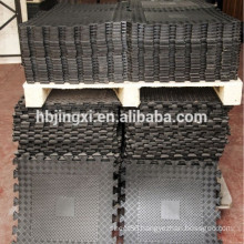 600mm*600mm Interlocking Rubber Tile for Flooring