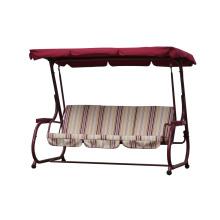 Balançoire de patio pour 3 personnes avec mobilier d'extérieur à baldaquin 2016