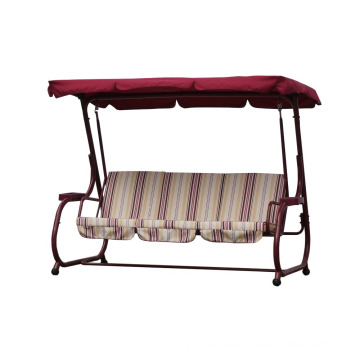 3-person patio swing with canopy outdoor furniture 2016