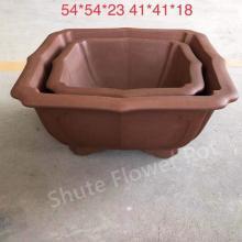 Prix bon marché professionnel des pots de fleurs de planteur de sable violet