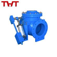 Energiespeicher hydraulisch langsam schließendes Rückschlagventil / langsames Absperrventil