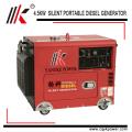 4.5kw 60hz portable engine silent diesel generator to qatar with factory price