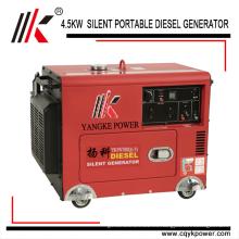 Generador bajo de las energías renovables de 12V 8.3A dc bajo ruido de poco ruido generadores diesel diesel del generador 5.0KW 60HZ para la venta