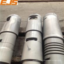PP, PE, PVC extrusora bimetálicos cônica barrel rosca dupla