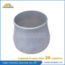 4 to 3 aluminum pipe reducer fitting