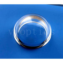 Lente de cúpula óptica para câmera subaquática