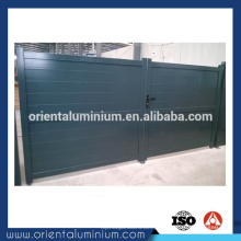 Barato design de portão de alumínio simples