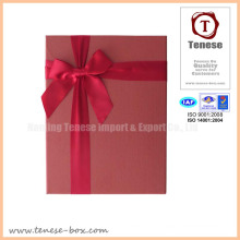Concise Gift Card Box with Ribbon