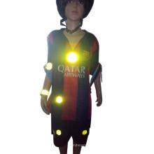 brilhar no escuro adesivo refletivo de papel de carro de folha redonda 3m