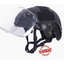 Быстродействующий шлем Противоударный козырек